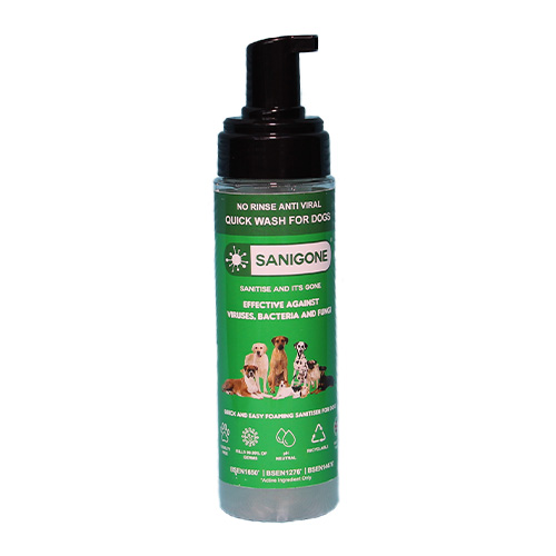 sanigone-no-rinse-quick-wash-shampoo-for-dogs