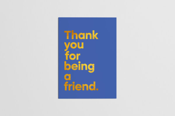 Andrew Gold Thank You For Being A Friend Front